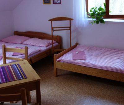 penzion Vranovská přehrada ubytování